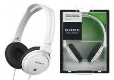 SONY MDR-V150 WHITE Monitoring DJ Stereo Headphones MDRV150 Original / Brand New