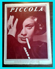 1934 - PICCOLA magazine DOROTHY DELL NELLY CORRADI FRANCES DRAKE JOAN CRAWFORD E