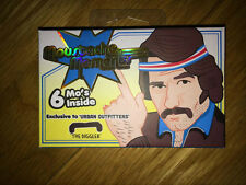 EMERGENCY MOUSTACHE KIT DISGUISE MOUSTACHES FANCY DRESS STAG CHRISTMAS FAKE TASH