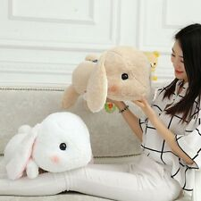 "New 18.89"" Cute Holland Lop bunny Flying Rabbit Plush Doll Toy Birthday Stuffed"