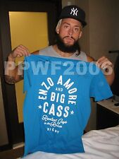 WWE ENZO & BIG CASS REALEST HAND SIGNED SHIRT WITH EXACT PICTURE PROOF & COA