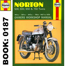 Norton 500 600 650 750 Twins 1957-1970 Haynes Workshop Manual
