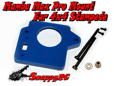 BLUE 4X4 Stampede MMPS Traxxas Mamba Max Pro Castle Creations ESC Mounting Kit