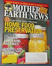 MOTHER EARTH NEWS MAGAZINE JUN/JUL 2015 HOME FOOD PRESERVATION GROWING TOMATOES