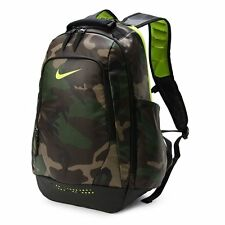 NIKE NEW UTILITY GRAPHIC BACKPACK BA5090-071 GREEN CAMO,BLACK,VOLT ADULT UNISEX