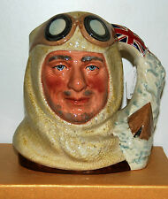 Grand royal doulton character toby carafe capitaine scott D7116 *** excellent ***