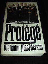Protege by Malcolm MacPherson GOLDEN APPLE BOOKS Paperback 1984