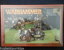 1997 GUERRIERO del Caos CARRO Games Workshop WARHAMMER esercito di malvagi FIGHTER Cavaliere Nuovo di zecca con scatola