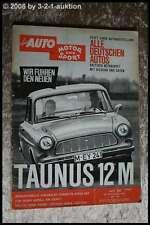 AMS Auto Motor Sport 20/62 Ford 12 M Chevrolet Corvette Sting Ray