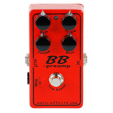 Xotic Effects BB Preamp Overdrive Guitar Effect Pedal New