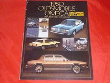 OLDSMOBILE Omega Brougham SX amerikanischer Prospekt von 1979