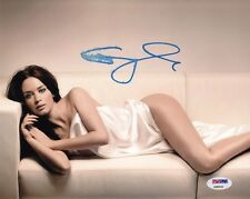 Emily Blunt Signed 8x10 Photo Autographed COA PSA/DNA