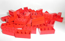 LEGO Basisstein 50 Stück 2x4 rot | red basic brick 3001 300121