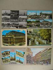 6 Ansichtskarten Wien - ab 60er Jahre - Postkarten - älter                 (K13)
