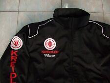 NEU KREIDLER Florett Fan-Jacke schwarz (rot)alle Modelle jacket veste jas jakka