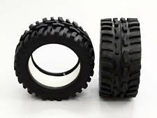 Traxxas 1/16 Mini E-Revo, Mini Summit Front/Rear Rubber Radial Tire with Insert