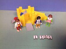(L151) playmobil petit parc de jeux pour maison