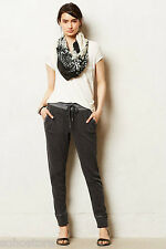 NEW Anthropologie Slubby Tapered Joggers Lounger By Saturday/Sunday Sz XS Cotton
