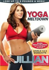 Yoga Exercise DVD - JILLIAN MICHAELS Yoga Meltdown - 2 Workouts!