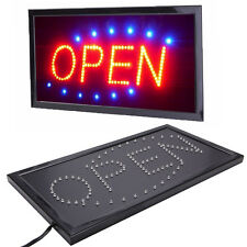 Ultra Bright LED Neon Light Animated Motion with ON/OFF Business OPEN Sign New