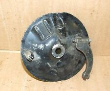 Yamaha RS 125 Front Brake Plate & Shoes & Speedo Drive RS125 Hub Freno Frein