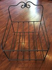LONGABERGER WROUGHT IRON PAPER TRAY STAND
