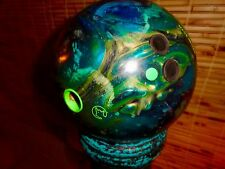 15 LB RIVAL TEAL PEARL COLUMBIA 300 EUC Bowling Ball USBC Approved MADE IN USA