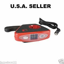 TRUCK/CAR/RV/12 V FAN// HEATER/DEFROSTER/WITH LIGHT/MOUNT OR HAND HELD/HEAT FAST