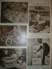 Photo article london British Toy Fair and Furniture Exhibition 1961