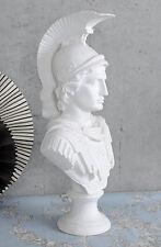 HISTORISCHE KRIEGER BÜSTE ALEXANDER DER GROSSE ANTIKE Skulptur
