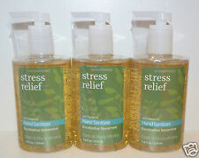 BATH BODY WORKS STRESS RELIEF EUCALYPTUS SPEARMINT ANTI BACTERIAL HAND SANITIZER