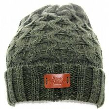 Aran Traditions Womans Ladies Winter Warm Knitted StyleGreenl Beanie Hat