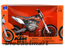 NEWRAY 57623 1:10 KTM 450-SXF 2012 DIECAST DIRT BIKE MOTORCYCLE ORANGE