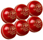 Pack of 6 Dukes Select Match Cricket Balls Adult 156g Hand Sewn with Cortex Core
