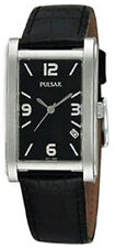 Pulsar  PXD935 Mens Watch Retro Collection Black Dial & Strap