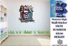 Monster High Wall Art Sticker Children's bedroom décor kids large sticker.