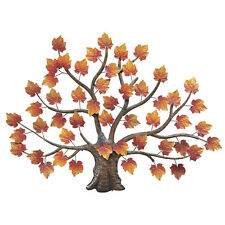Collections Etc Maple Tree Decorative Metal Wall Art