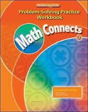Elementary Math Connects: Math Connects, Grade 3, Problem Solving Practice Workb
