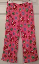 Angry Birds Child Small (4-6) Pink With Printed Designs Pajama Pants