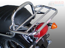 TRIUMPH SCRAMBLER CHROME LUGGAGE CARRIER RACK BY RENNTEC (REN7322C)