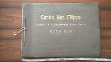 ALBUM FOTO 1950 CENTRO SAN FILIPPO ROMA CORRIERA ALFA ROMEO FIAT BUS ETC