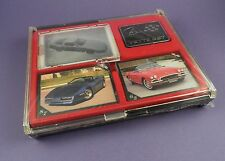 Corvette Set of Cards, Badge etc. in Sealed Case - Inaugural Edition 1991