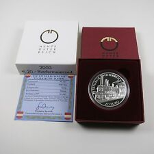Österreich 20 Euro 2003 Silber PP Biedermeierzeit