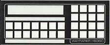 WAYFARER '2' or 'SAVER' BUS TICKET MACHINE (HS350  KEYBOARD FASCIA/OVERLAY)