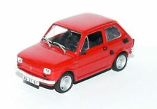 FIAT 126 P RED  ( 1974 ) -- 1/43 -- IXO/IST -- NEW