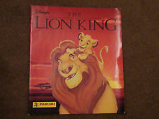 DISNEY THE LION KING - COMPLETE STICKER ALBUM - PANINI 1994