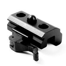 Release Quick QR Harris Style Bipod Sling Stud to 20mm Rail Adapter Black Matte
