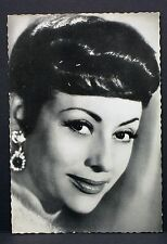 Caterina Valente - Actor Movie Photo - Film Autogramm-Karte AK (Lot-G-8693