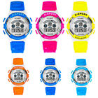 Child Kid Boys Watch LED Digital Quartz Alarm Date Waterproof Sports Wrist Watch