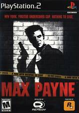 Max Payne PS2 Playstation 2 Game Complete